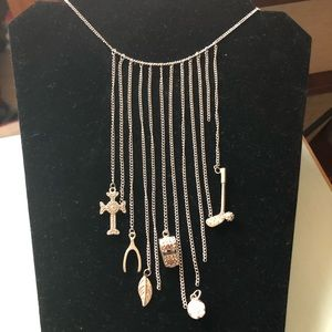 Jewelry - Chain necklace and charms